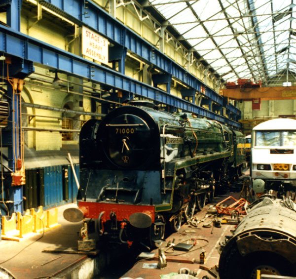 Crewe Works Erecting Shop