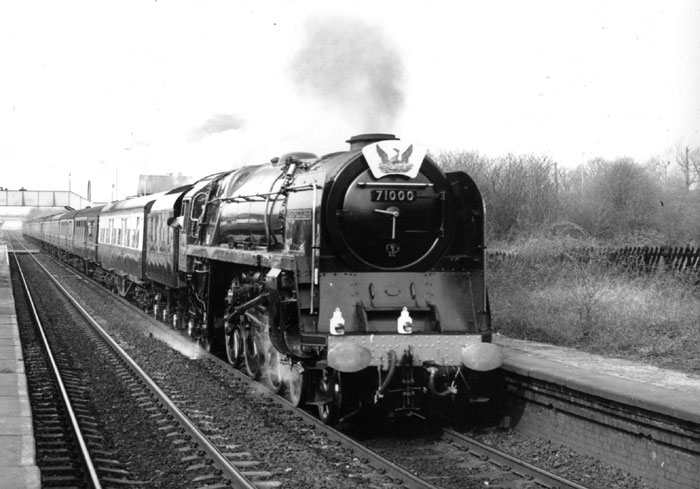 14th March 1990 -Test run passing though Spondon